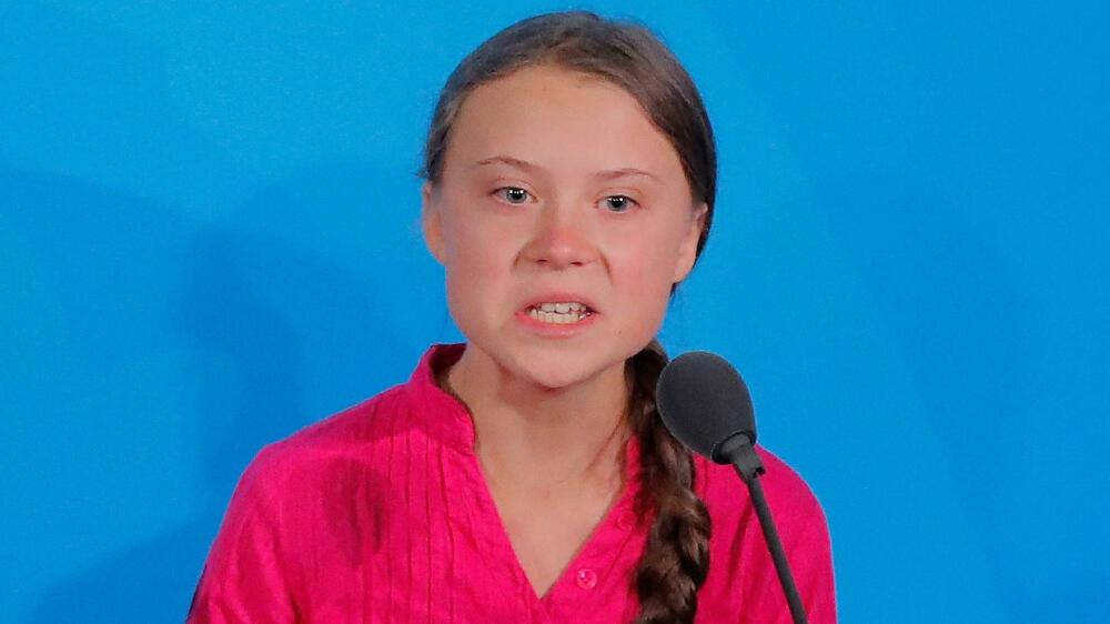 Greta Thunberg call to stop NUKING each others