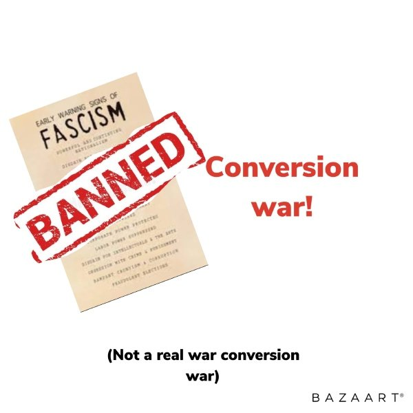 War on fascism starts in one country!