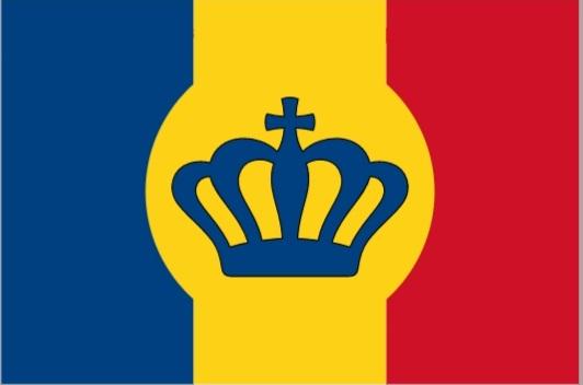 United Kingdom of Romania changes its flag
