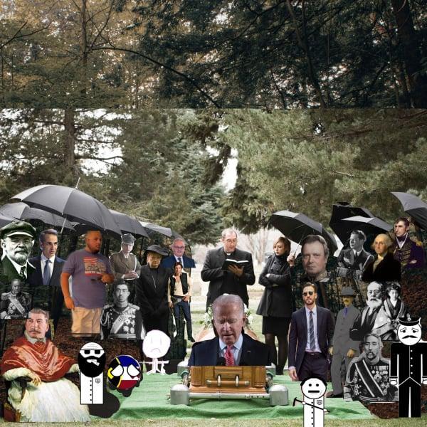 The funeral of Joe Momma