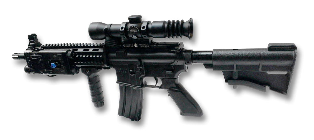 Breeman Military adapts Uspelian rifle