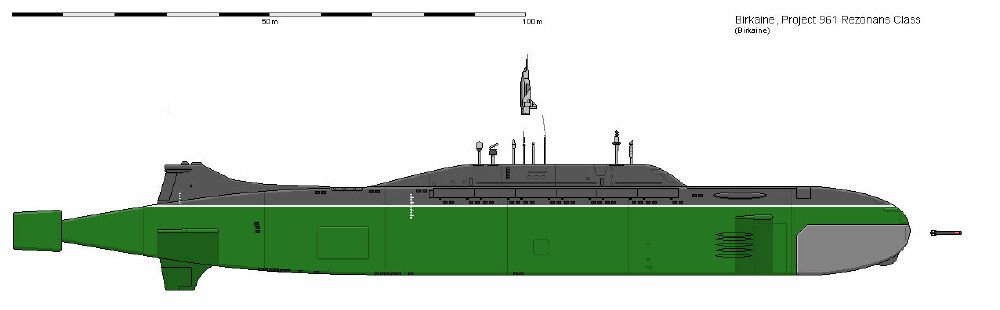 Rezonans-class guided missile submarine is now in the production line