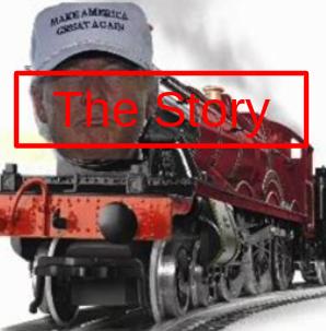 The TRUE story of trump train